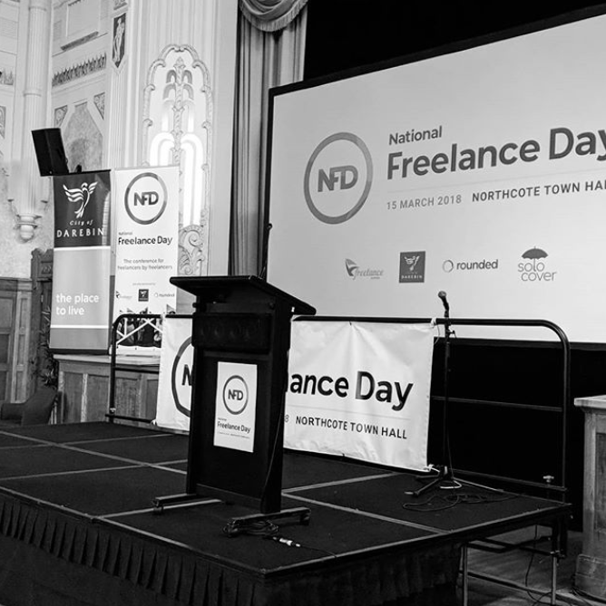 What I learned at National Freelance Day and around the traps in Melbourne