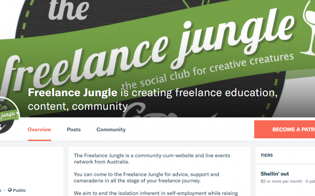 Why the Freelance Jungle has launched a Patreon