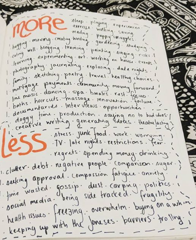 freelance journal more or less