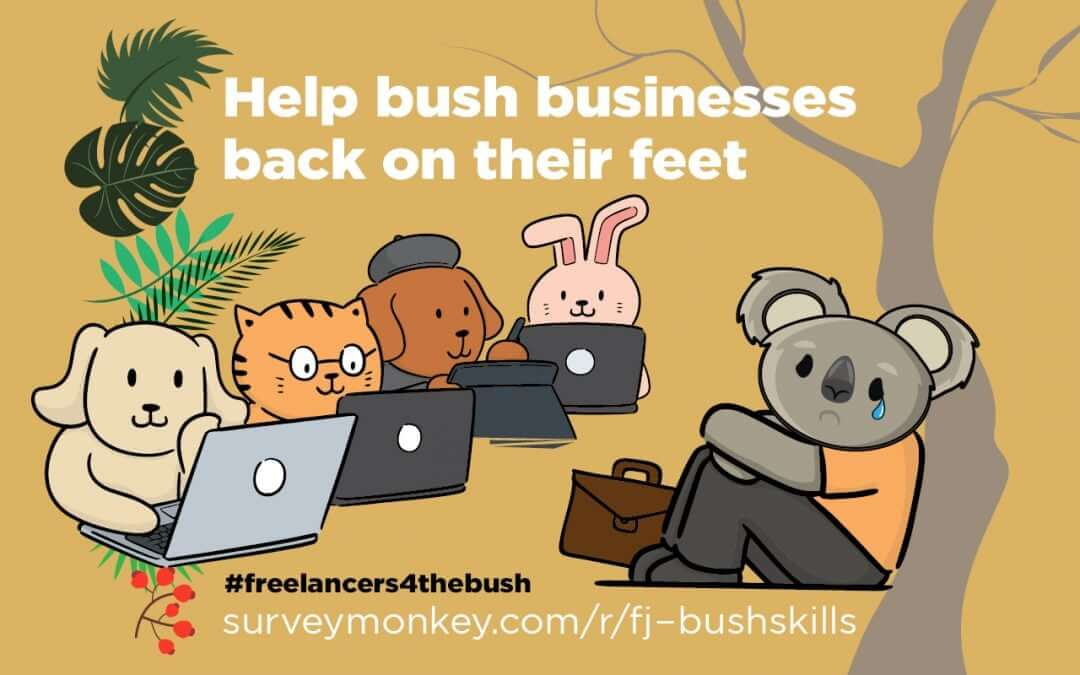 Skills for the bush: Freelancers helping with bushfire recovery