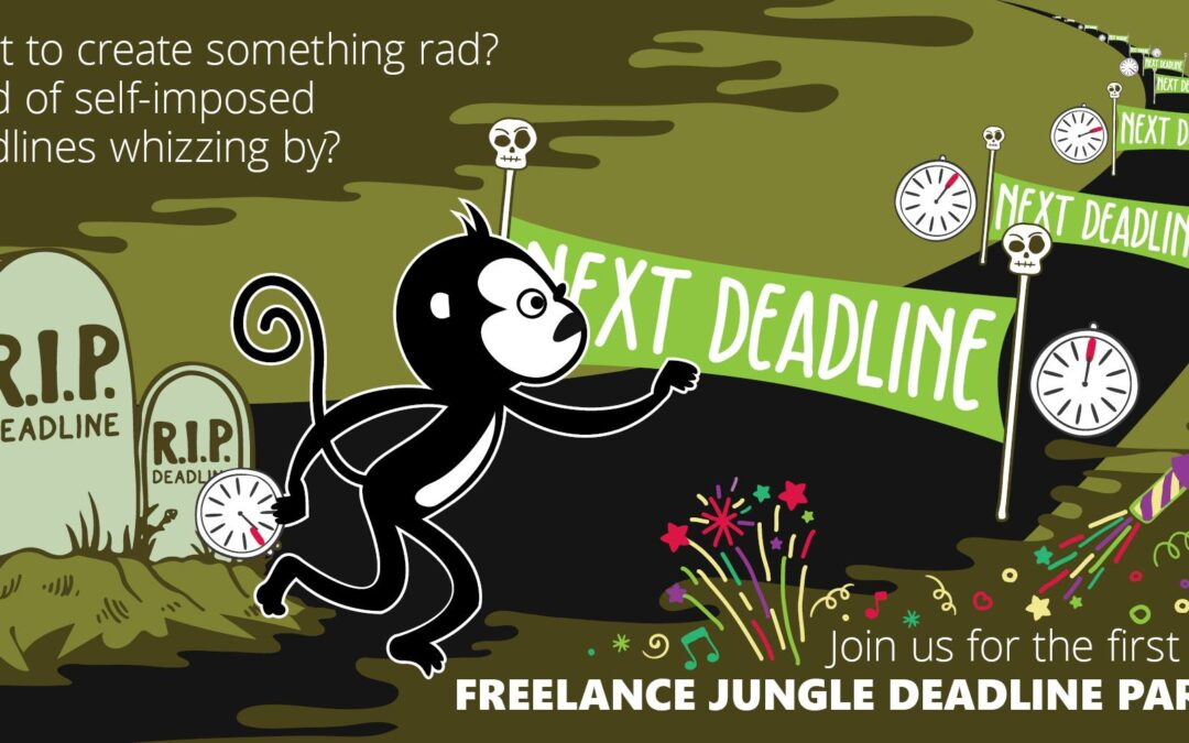 Introducing the Freelance Jungle Deadline Party