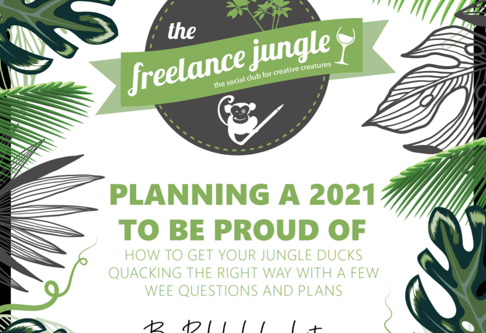 Start 2021 right with this freelance planner
